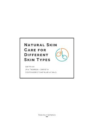 Skin Care for Different Skin Types_Page_01